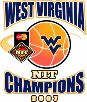 West Virginia 2007 NIT Tournament Champions tee shirts...order YOURS now!